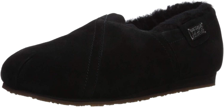 Australia Luxe Collective Women's Loafer Slip-On, Black, 9 M US