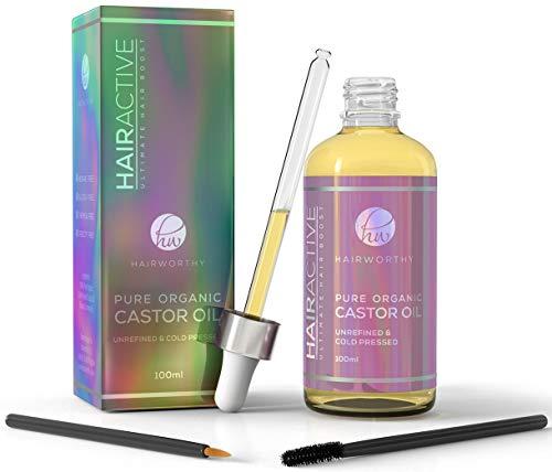 Hairworthy – Aceite de Castor 100% Puro, Orgánico, Prensado En Frío y Natural para un...
