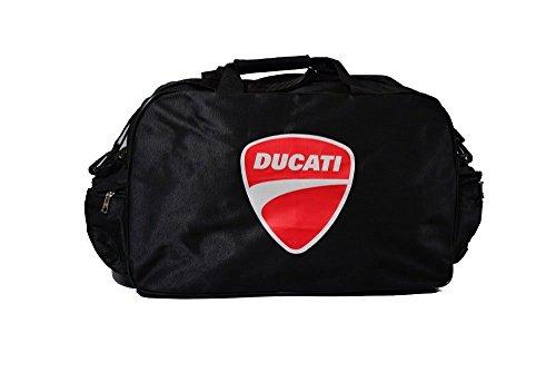 Ducati Logo Sporttasche Leichte Seesack Reisegepaeck Duffel Wochenende Uebernachtung Taschen fuer Reisen Sport Gym Urlaub