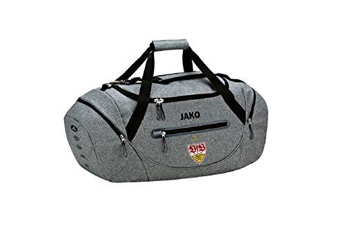 JAKO VfB Stuttgart Champ Small Sporttasche Tasche (one Size, Grey)