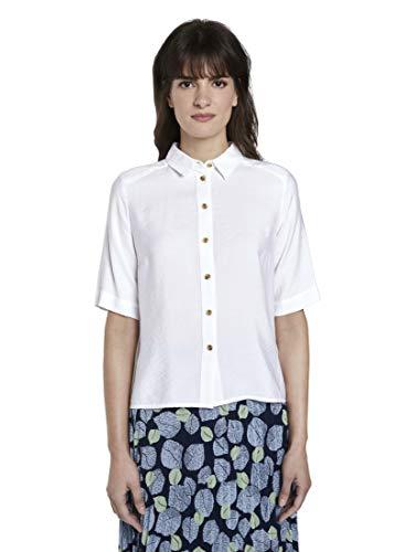 TOM TAILOR mine to five Damen Blusen, Shirts & Hemden Schlichtes Blusenshirt...