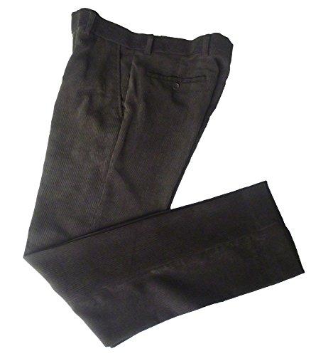 Forecast Męskie spodnie ze sztruksu