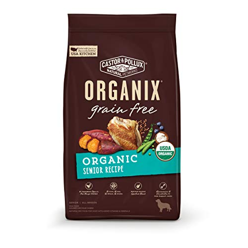 Castor & Pollux Organix Grain Free Organic Senior Recipe Grain Free Dry Dog Food - 10 lb Bag