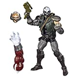 Hasbro Marvel Legends Series 6-Inch Collectible Action Figure Skullbuster Toy (X-Men Collection) Caliban Build-a-Figure