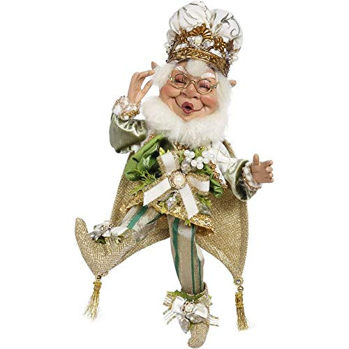 Mark Roberts 2020 Limited Edition Collection Mistletoe Magic Elf Figurine, Small 11.5'' - Deluxe Christmas Decor and Collectible