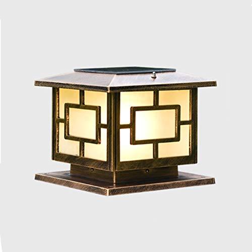 TXTC wandlampen, waterdicht, schemering tot 's morgens met zonne-sensor, buitenverlichting, veranda, decoratie voor tuin, terras