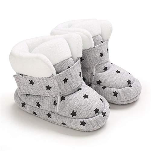 Baby Winterstiefel Jungen Winter Babyschuhe Mädchen, Krabbelschuhe Baby Warm...