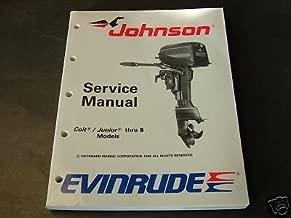 1989 OMC EVINRUDE & JOHNSON OUTBOARD MOTOR COLT/JUNIOR 8 SERVICE MANUAL