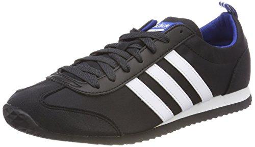 adidas Herren VS Jog Gymnastikschuhe, Schwarz (Core Black/FTWR White/Collegiate Royal), 47 1/3 EU