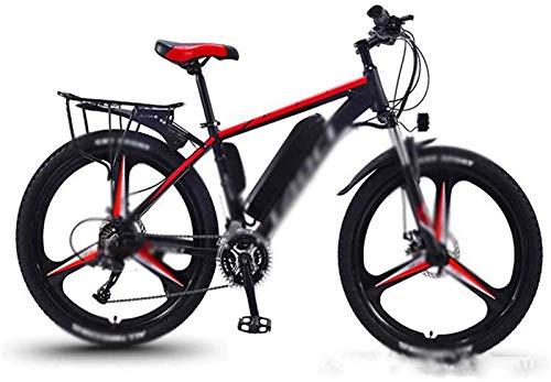 Bicicleta eléctrica Bicicleta eléctrica por la mon 26 en Bicicletas eléctricas Shift 350W de potencia bicicleta de montaña, Display Amortiguador faros LED de ciclo al aire Trabajar el cuerpo Viaje par