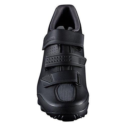 SHIMANO SH-ME2 Men\'s Mountain Enduro SPD Cycling Shoes - Black/White - 41