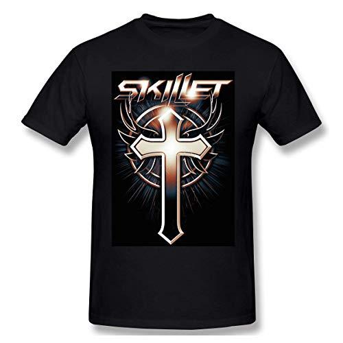 Skillet Print Design Herren Ideal Kurzarm T Shirt S