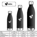 Aorin 750ml Trinkflasche (Schwarz) - 7