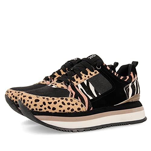 Sneakers con Mix de Prints y Suela Gruesa para Mujer CHEJOV