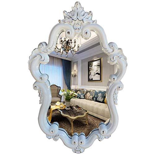 ZHAOJYZ Household badkamerspiegel met stijl wandspiegel ovaal HD badkamerspiegel wastafel wandspiegel wandspiegel wandspiegel wandspiegel