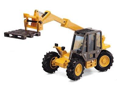Joal - Véhicule de chantier - miniature - Grue JCB Fourche 525-58
