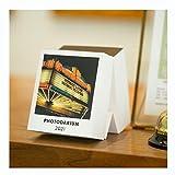 DEF Calendario de Escritorio de desgarro Manual 2021 con Soporte 356 días Una página por día, Calendario de Mesa de Escritorio con Imagen artística HD para decoración de Escritorio