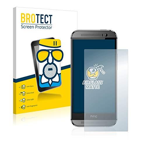 brotect Pellicola Vetro Opaca Compatibile con HTC One M8 / M8s Protezione Schermo Anti-Riflesso Durezza 9H, AirGlass