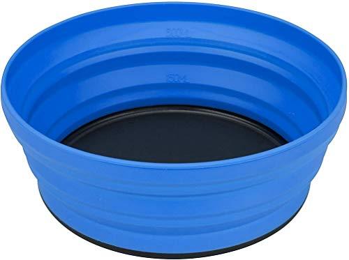 Sea to Summit Uni X Collapsible Dishware Plate, Blau - Blau, 650ml