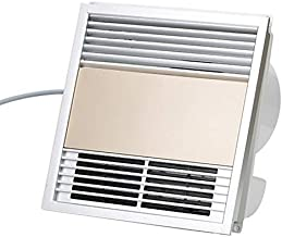 ZSQAW Household Changes in Temperature Heater Fan Toilet Waterproof Electric Heaters Single Wind Heat Integration Ceiling