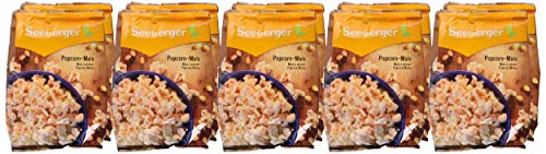 Seeberger Popcorn-Mais, 10er Pack (10x 500 g Packung) - 4