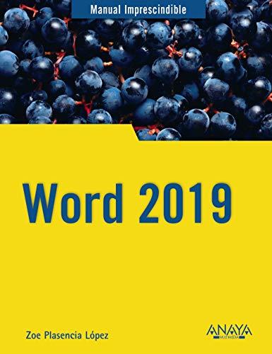 Word 2019 (Manuales Imprescindibles)