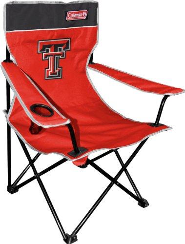 NCAA Texas Tech Raiders Coleman Klappstuhl mit Tragetasche, Rot
