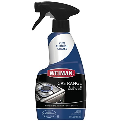 Weiman Gas Range Cleaner and Degreaser - 12 Ounce - Packaging May Vary