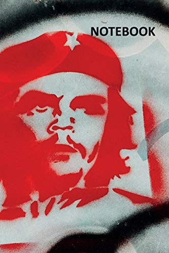 Notebook: Cuban icons Charming Composition Book Daily Journal Notepad Diary Student for researching Che Guevara