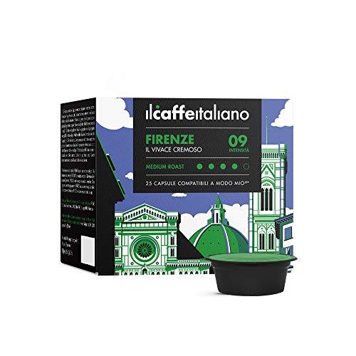 FRHOME - Lavazza a Modo Mio 100 Càpsulas compatibles - Il Caffè Italiano - Mezcla Firenze Intensidad 9