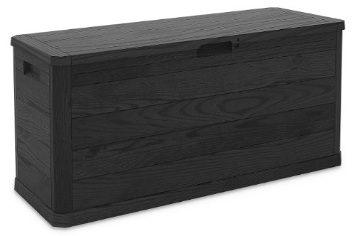 TOOMAX Cushion Multibox Woody's, Kunststoff, Anthrazit, 117 x 45 x 56 cm