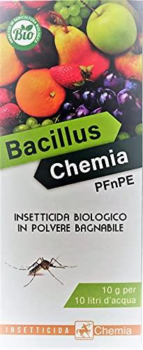 VIALCA SRL Bacillus Chemia PFNPE 100gr - Insetticita Biologico in Polvere bagnabile a Base di Bacillus Thuringiensis, varietà Kurstaki