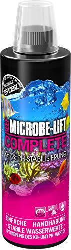 MICROBE-LIFT Complete – Karbonathärte KH erhöhen und PH stabilisieren, einfach und schnell, 473ml