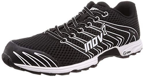 Inov-8 Unisex F-Lite G 230 V2 Cross Training Shoes, Black/White, 6.5 US Men