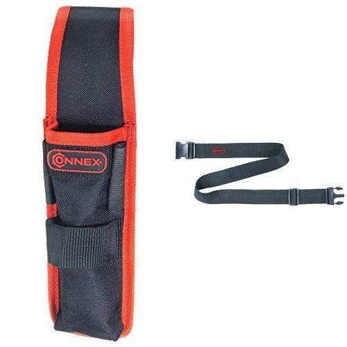 Connex Werkzeug- und Maßstabhalter 1-Fach, COX952073 + Connex Werkzeuggürtel verstellbar Nylon,...