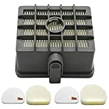 HYY-YY 1Pc Filtro +2 Set de Espuma Para Shark Nv450 Xff450 Xhf450 Accesorios de Aspiradora