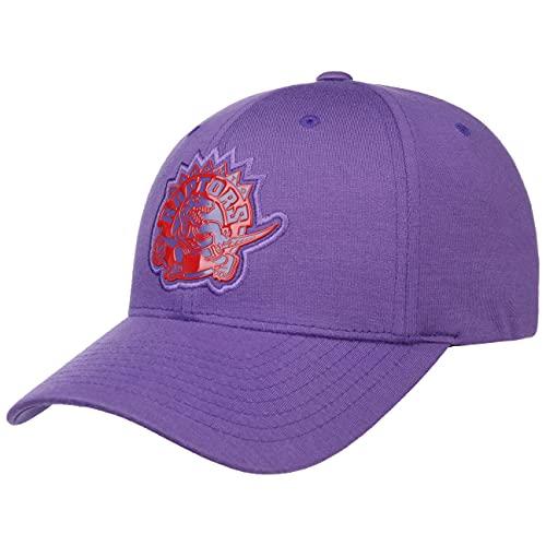 Mitchell & Ness Prime Low Pro Snap Raptors Cap Basecap Baseballcap Curved Brim NBA Toronto (One Size - lila)