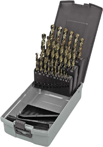 Keil RoseBox 307 501 113 Drill Bit Set Smoothed Metal Cobalt Alloy 1 to 13 mm HSS-E DIN 338 / 25 Pieces by Keil