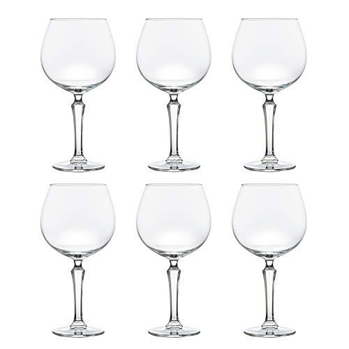 Libbey Bicchiere SPKSY da cocktail Gin & Tonic - 580 ml / 58 cl - Set di 6 - Lavabile in lavastoviglie - Perfetto per un cocktail party a casa