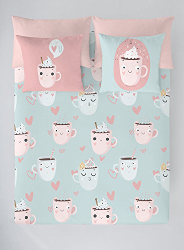 COSTURA Sewing Duvet Cover Funny Cups 90 cm
