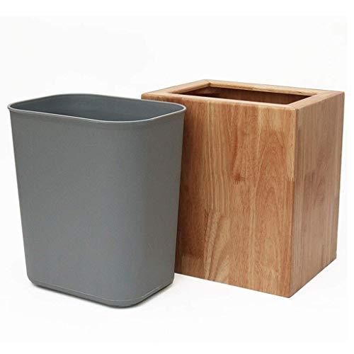 JiangKui Reciclaje de Basura de Estilo Nórdico Cubo de Basura Hogar Sala de Estar Cocina Dormitorio sin Tapa Almacenamiento Cubo de Basura Cocina Cubo de Basura