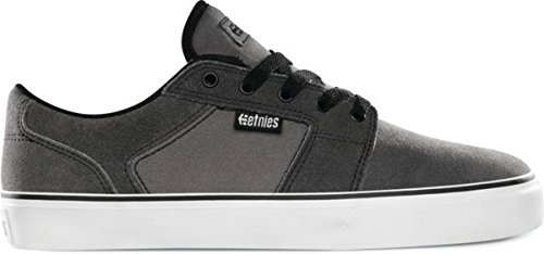 Etnies Skateboard Schuhe Bargels Dark Grey/Black/White Shoes, Schuhgrösse:41.5