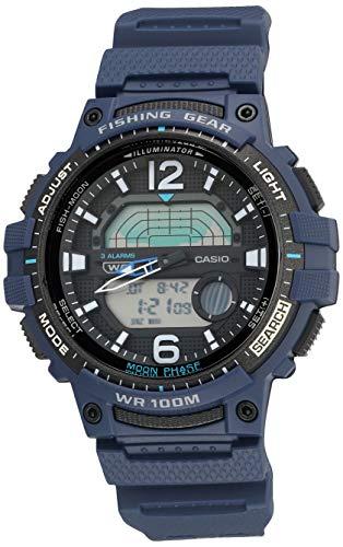 Casio Pro Trek - Reloj deportivo de cuarzo con correa de resina para hombre