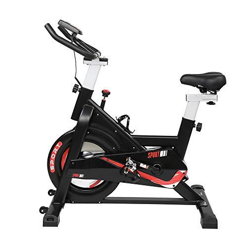Spinning bike lana feltro resistenza 105.5*56*109 cm 120 kg casa esercizio bici casa indoor palestra nero