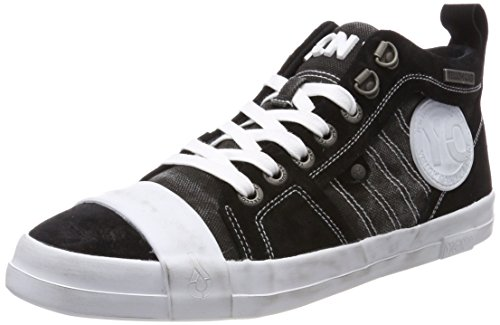 Yellow Cab Yellow Cab Herren SLY M Sneaker, Schwarz (Black), 44 EU