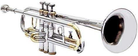 Nashville-Davidson Mall SAI TRADERS TRUMPET BB Max 57% OFF PITCH NICKEL + FREE COLOR CASE BRASS WITH