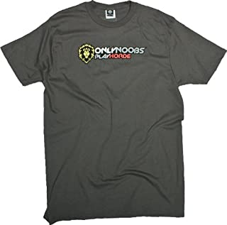 World of Warcraft Only Noobs Play Horde T-Shirt Medium