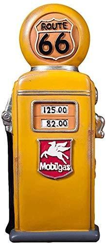 BBGSFDC Hucha creativa de gasolinera retro, para decoración de personalidad, cambio de moneda para adultos, tamaño de regalo 25 x 9,5 mm