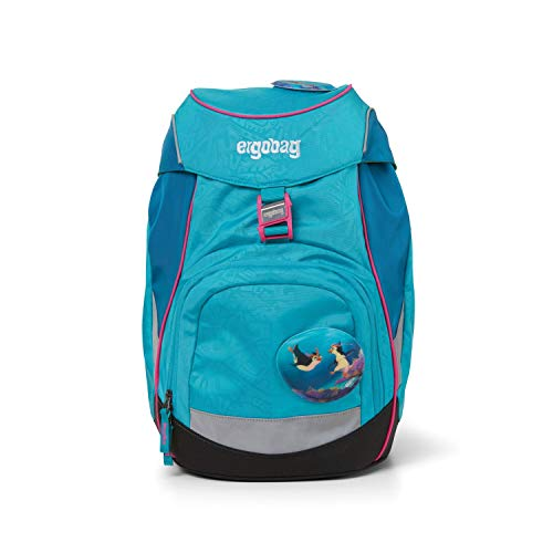 ergobag Unisex-Kinder Prime Backpack Single Rucksack Mehrfarbig (Hula Hoopbear)