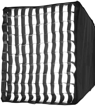 Discount mail order ILEDGear Rapid Foldable Softbox Fresno Mall Diffuser Honey with Comb Gri Kit
